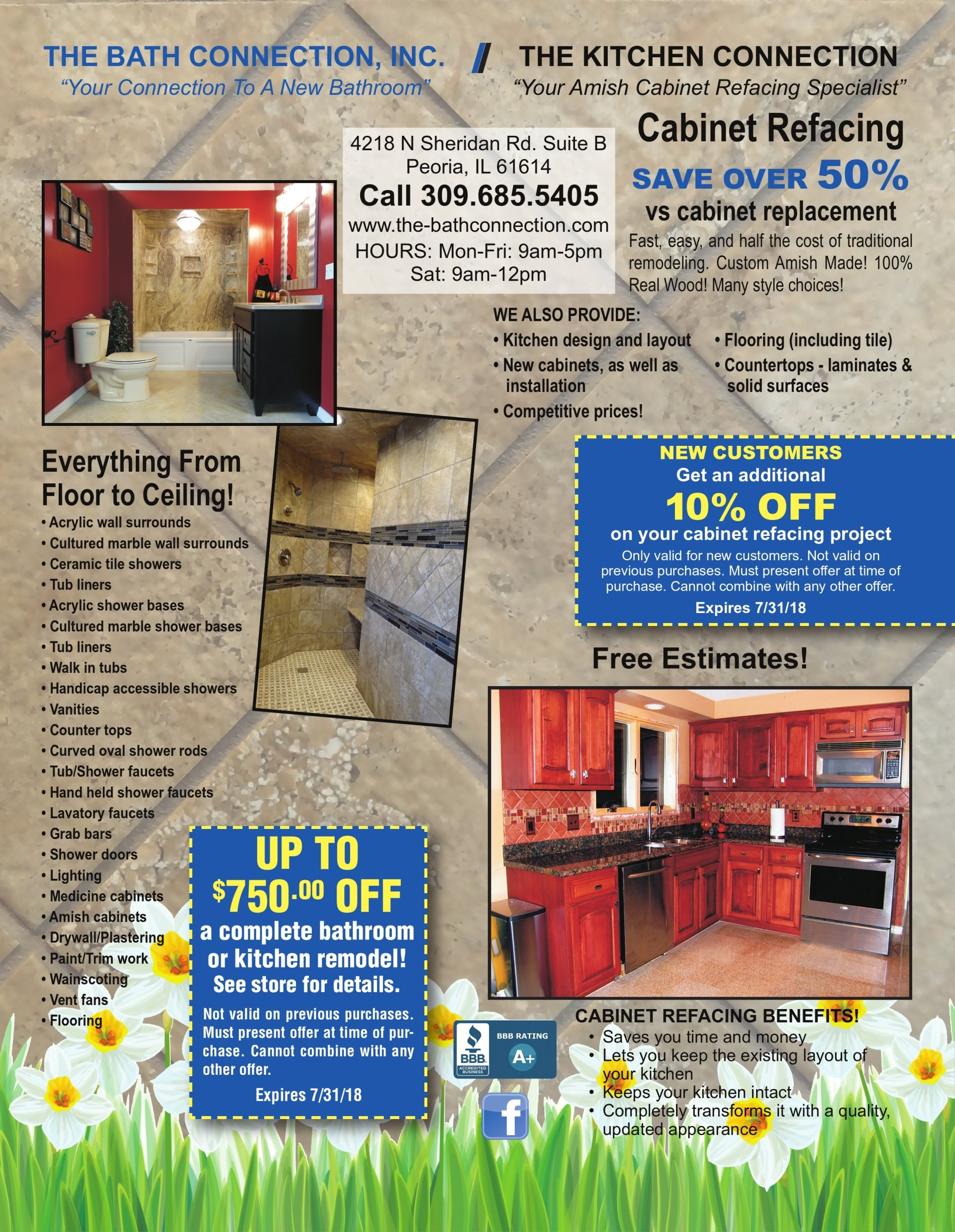 The Bath Connection discount offer coupons Peoria, IL