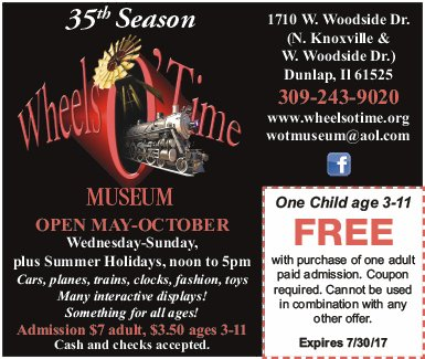 Wheels O' Time Museum free coupon