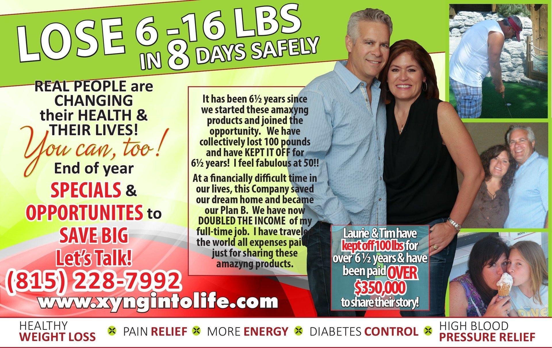 Xyngular weightloss health energy Laurie Ulrich