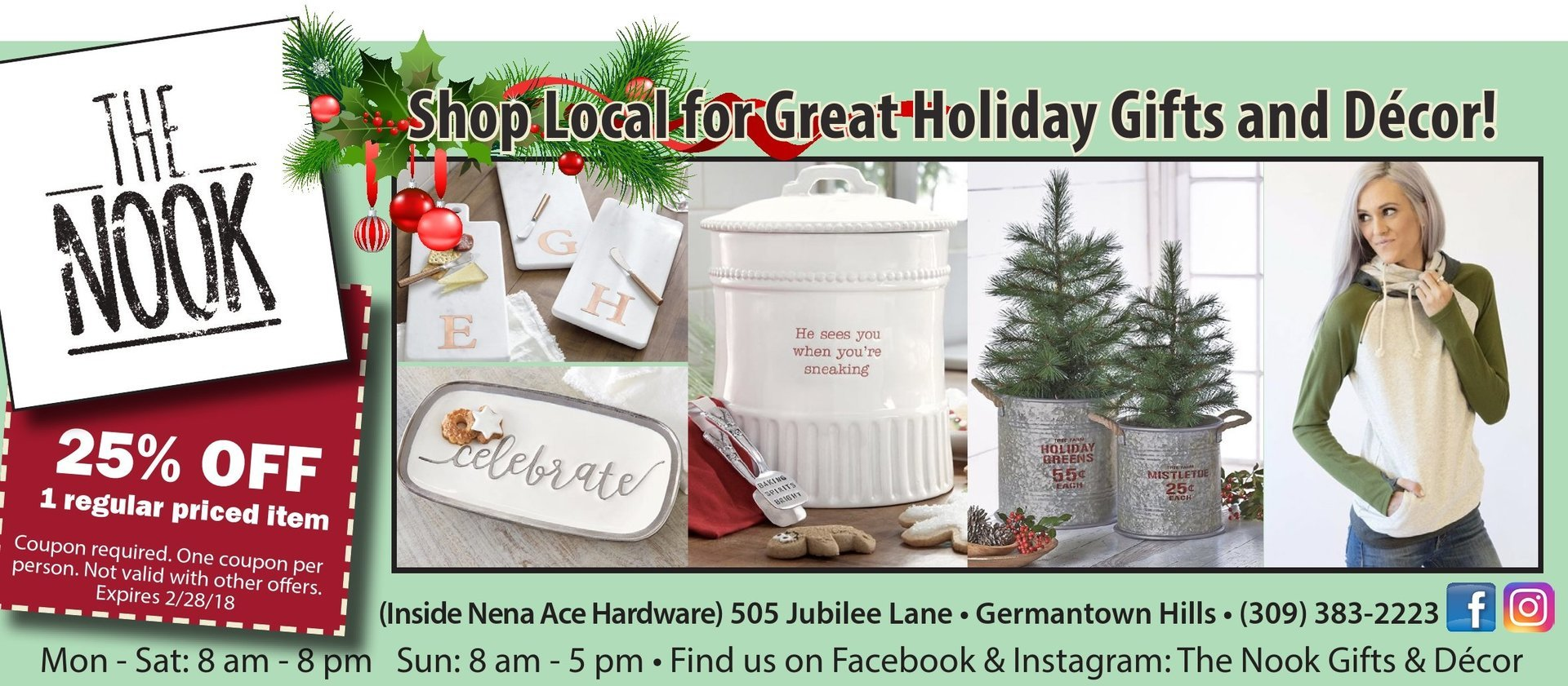 The Nook Gifts and Home Decor in Ace Hardware Germantown Hills, IL