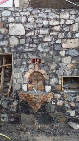 ristrutturazione muro in pietra