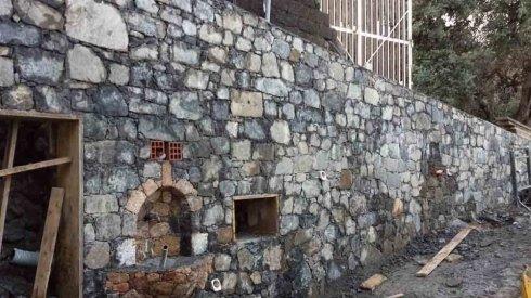 lavori muro in pietra
