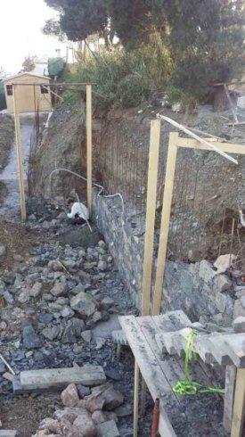lavori muri esterni