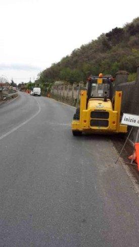 riparazioni tratti stradali