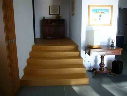 ristrutturazione scalinata