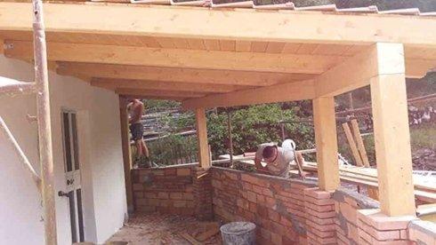costruzione coperture in legno