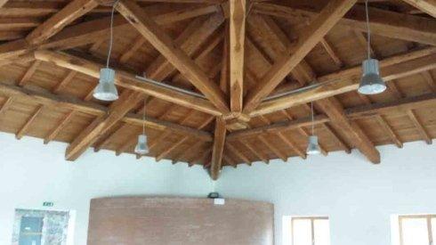 installazioni coperture in legno
