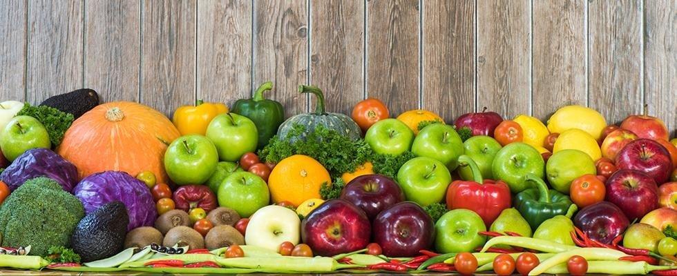Frutta e verdura al dettaglio