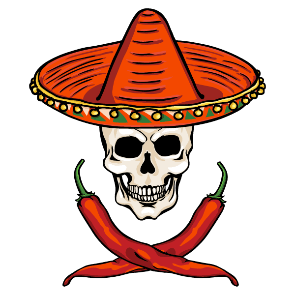 Skeleton Chilli Icon