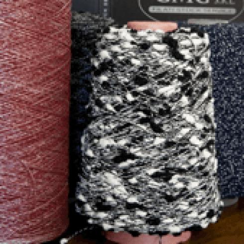 produzione tessile, cordatura cascami, tessitura