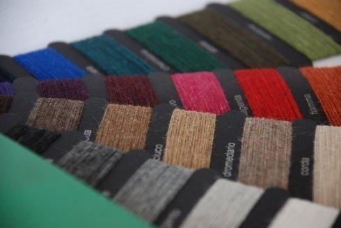 lavorazione materie prime tessili