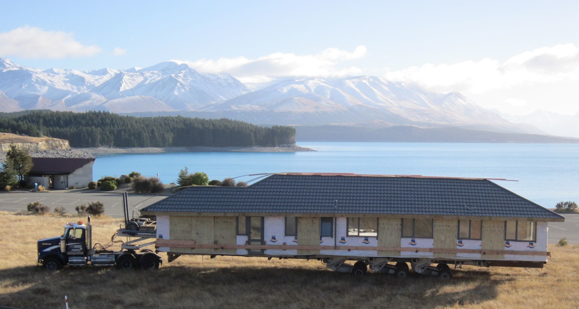 Building relocations in the South Island of NZ