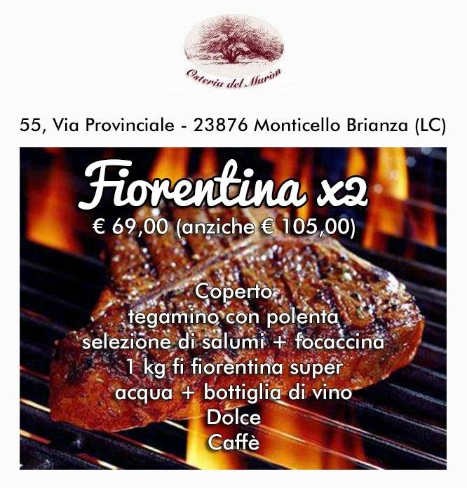menù fiorentina
