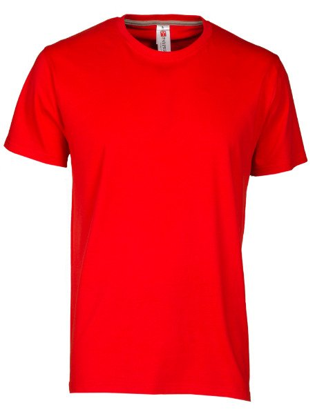 una maglietta di color rosso