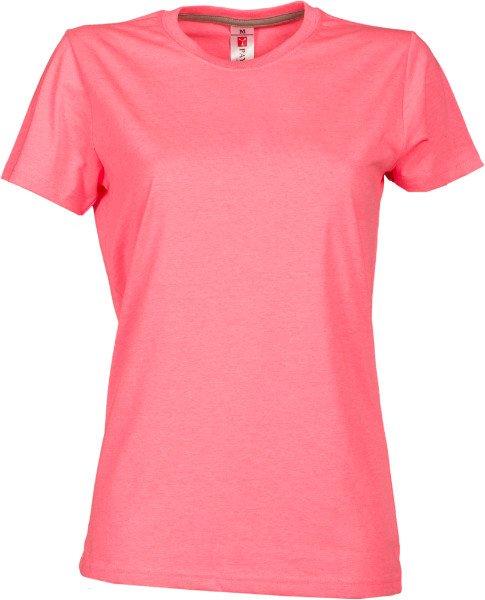 una maglietta di color rosa