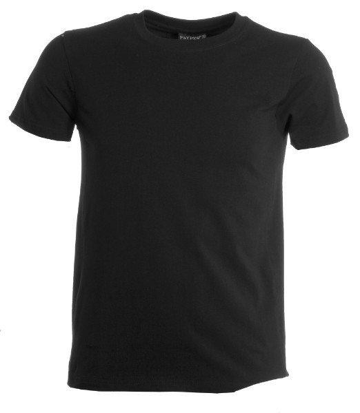 una maglietta di color nero
