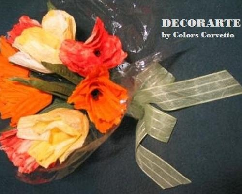 Mazzo tulipani decorativo