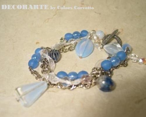 Bracciale azzurro