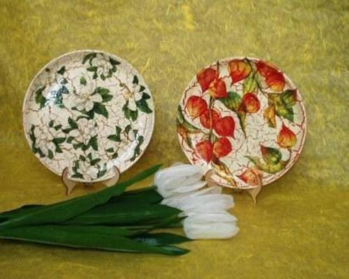 Crauqele piatti fiorati