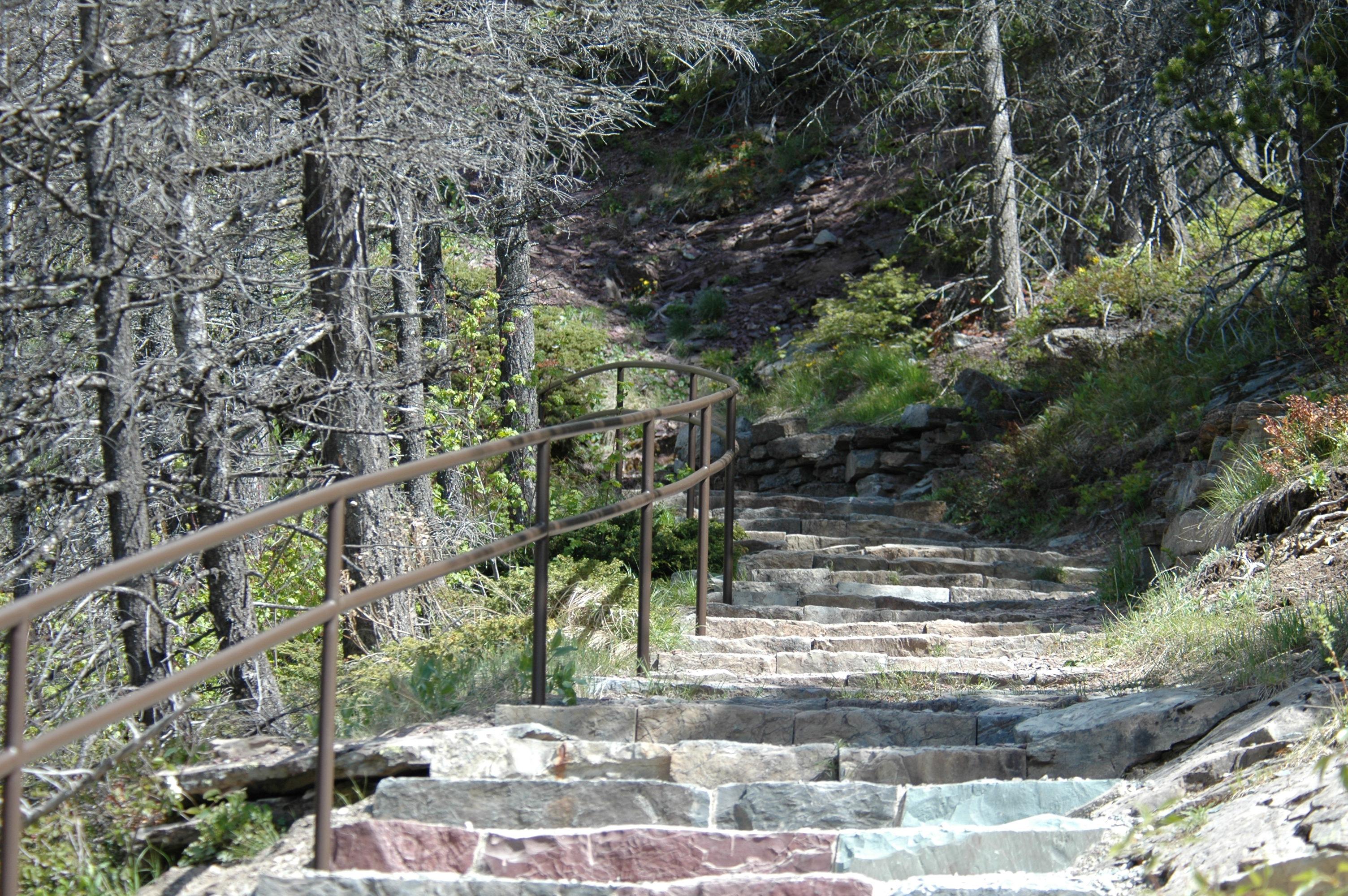 steel stair rail
