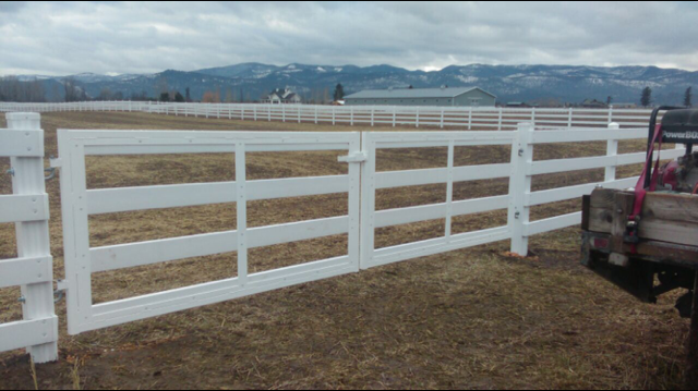 white fencing