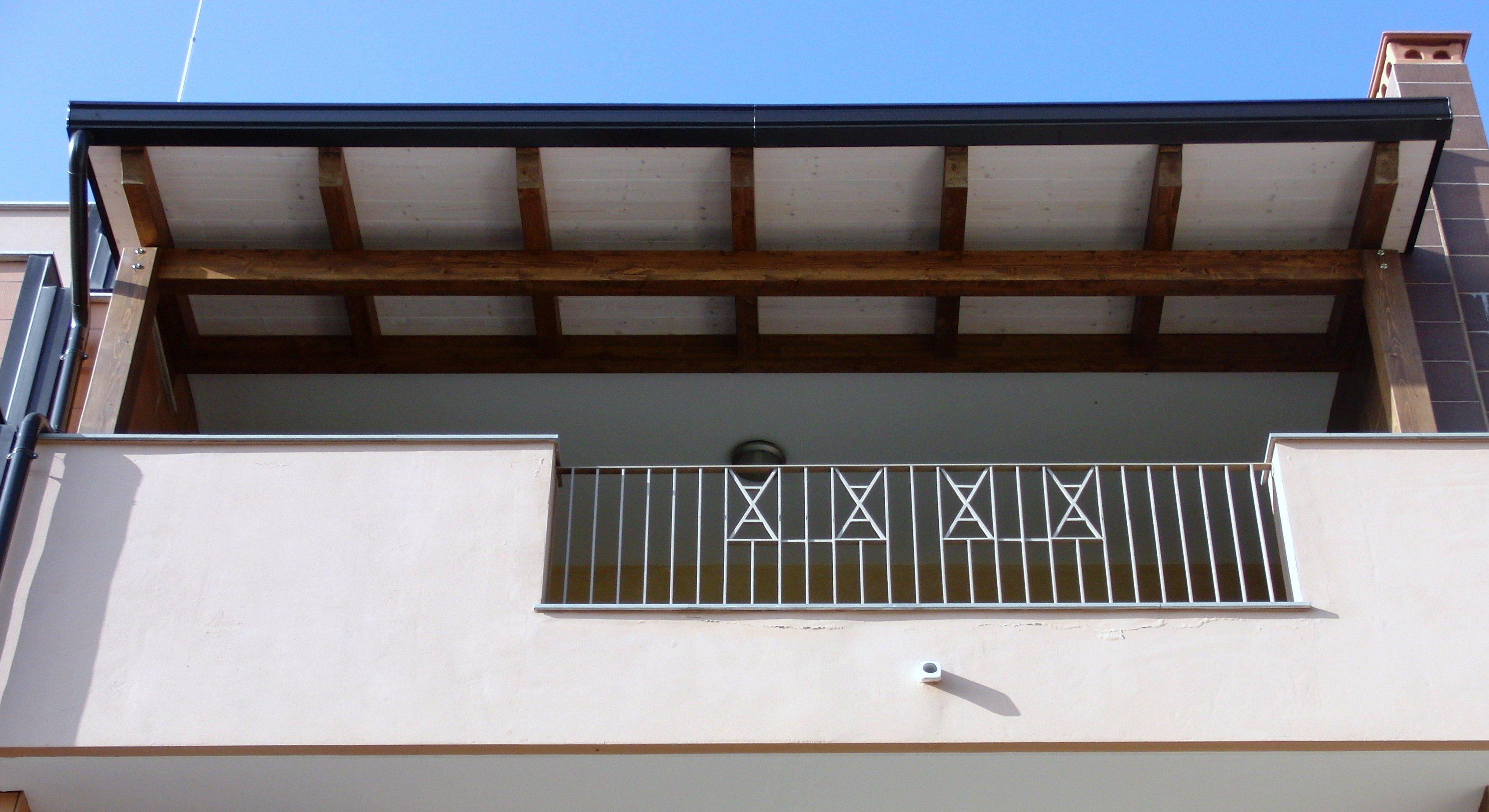 Tettoia balcone