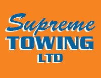 Supreme towing logo