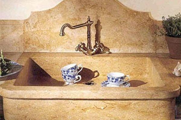 lavello cucina stile antico