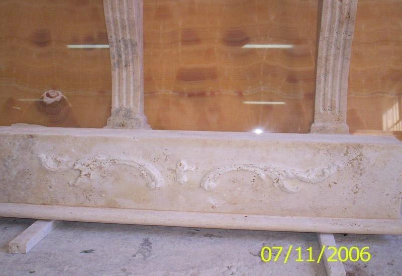 decorazione in marmo