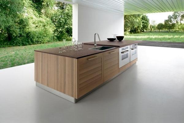 isola di una cucina