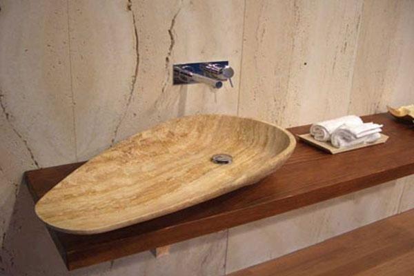 lavabo in legno