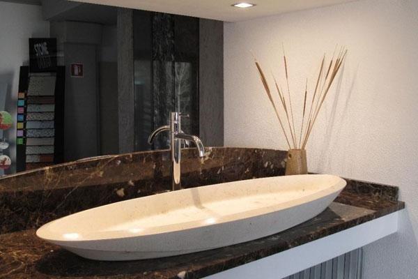 lavabo forma ellittica