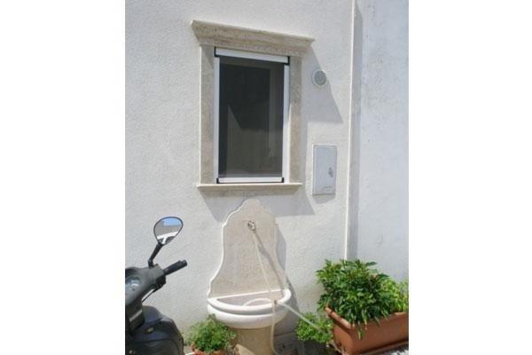 rubinetto da esterno in pietra