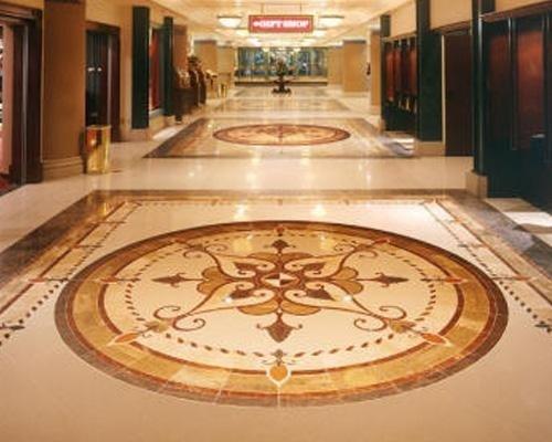 decorazione sul pavimento