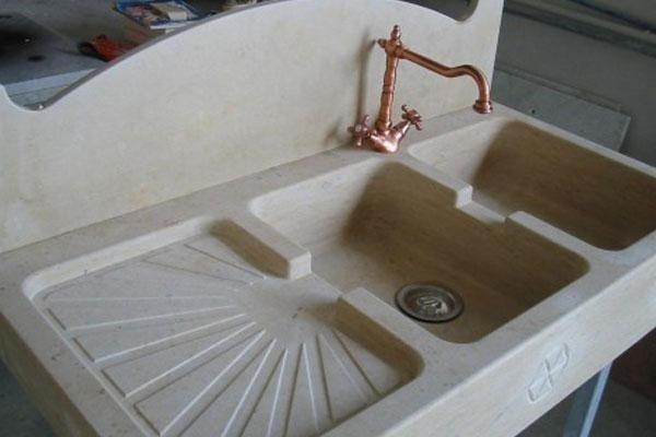 lavello in ceramica