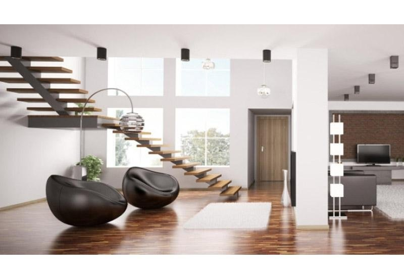 rampa di scale senza ringhiera