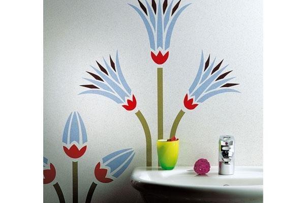 decorazione sul muro