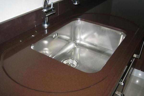 lavello in acciaio