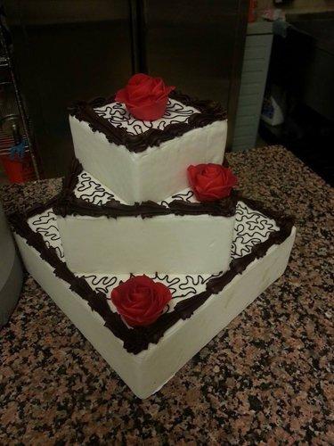 torta a tre ripiani