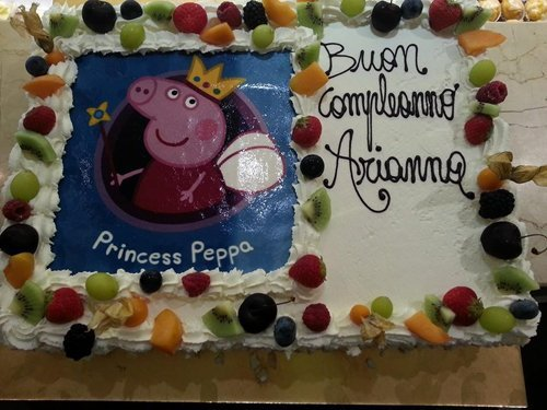 torta con peppa pig