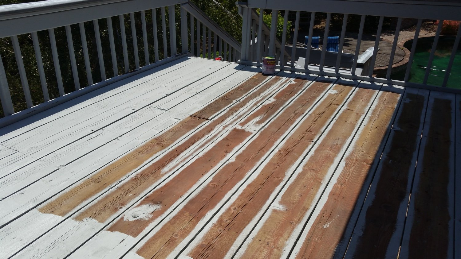 If Itu0027s A Deck, You Have To Use Deck Paint. Part 92