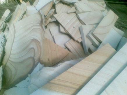 wollombi sandstone banded sandstone