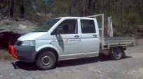 wollombi sandstone delivery truck