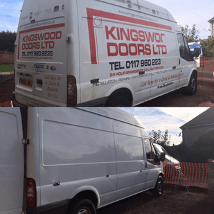 Vehicle Sign Writing Removal in Bristol