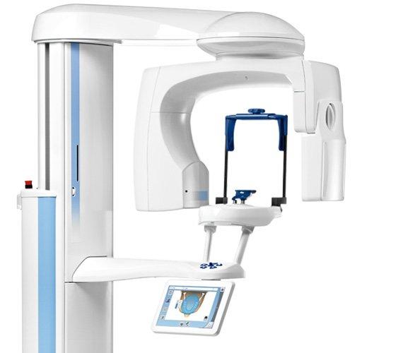 macchinario radiologia cranio