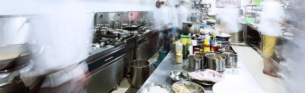 cucina per ristorante