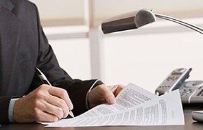 avvocato firma dei documenti