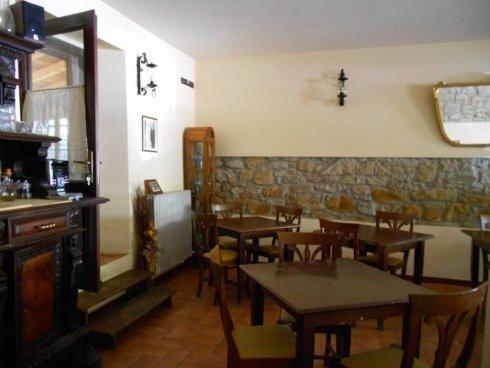 Sala interna Osteria