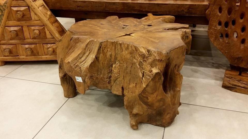 tavolo etnico legno scuro