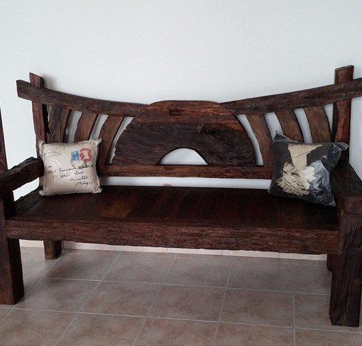 Panca legno massello